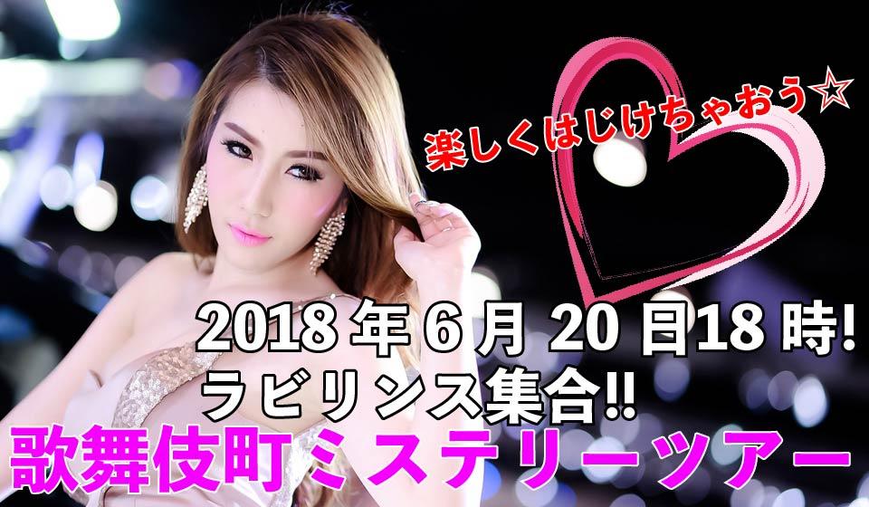 新宿歌舞伎町女装ミステリーツアー